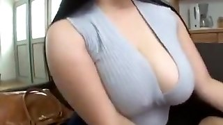 Busty japanese lady