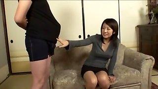 Exotic Japanese girl Rin Saotome, Misa Takada, Azumi Harusaki in Stunning Big Dick, Handjobs JAV movie