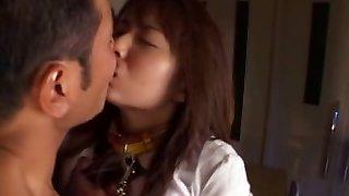 Cute asian schoolgirl penetrated hard