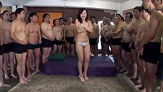 Emi Asano in Emi does a bukkake - MilfsInJapan