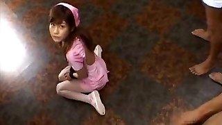 Hime Kamiya Asian teen in rock-hard