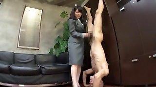 Best Japanese lady Chika Arimura, Misa Takada, Ran Kayama in Fabulous Sole Fetish, Secretary JAV pinch