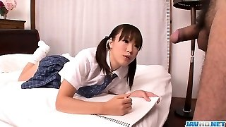 Momoka Rin is a hot beauty that craves for tough sex