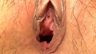 Amazing amateur Internal Cumshot, Close-up xxx gig
