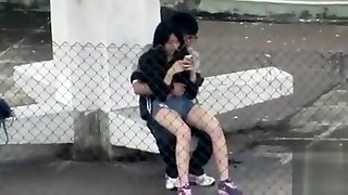 Horny Asian college girl wants to shag his girlfriend