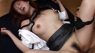 Hottest Japanese whore Ryoko Murakami in Best Bukkake, Cumshots JAV movie