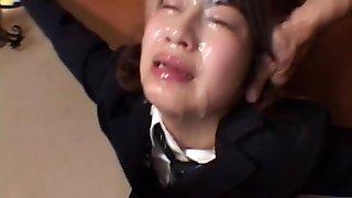 JapaneseBukkakeOrgy: Mass Ejaculation in School Uniform 3