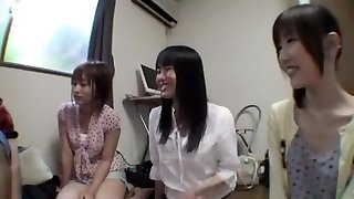 Nasty Japanese slut Mika Osawa, Miku Shindo, Kokomi Sakura in Exotic Facial, Face Sitting JAV gig