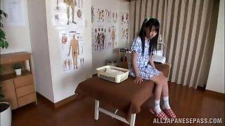 Scorching Asian teen enjoys the art of erotic massage