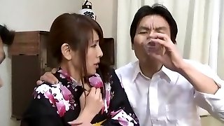 Finest Japanese whore Misa Yuuki in Insatiable Foot Fetish, Cunnilingus JAV video