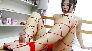 Incredible Chinese chick Toa in Exotic JAV uncensored Sole Job movie
