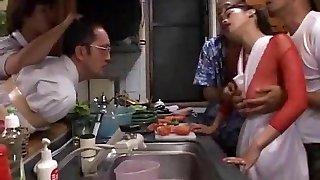 Horny amateur Fishnet, Group Sex xxx clip