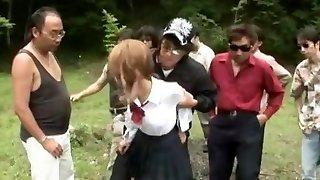 Hottest Japanese lady Akane Hotaru in Naughty Fake Penises/Toys, Gangbang JAV scene