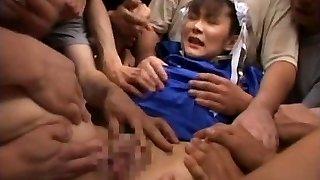 Asuka Ohzora Cosplay chick in bukkake
