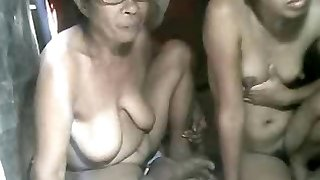 FILIPINA Grannie AND NOT HER GRANdaughter Demonstrating ON CAM