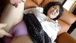 Exotic Asian model Neo Kazetani, Ayumi Iwasa in Hottest Cunnilingus, Fingering JAV movie