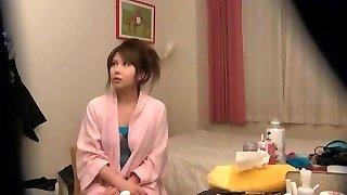 مجنون اليابانية الفرخ Nonoka Momose في مذهلة تجميع خفية كاميرات JAV فيلم