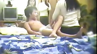 Amateur Chinese Threesome - Full