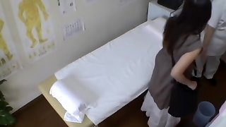 Delicious Japanese whore penetrated hard during naughty massage