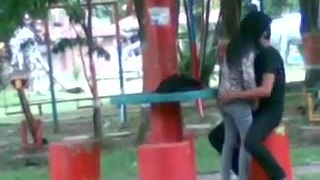 Malay Pounding in Park