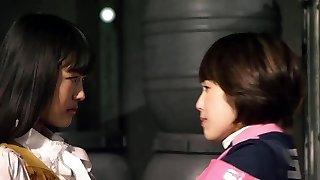 Mika Kikuchi and Mayu Kawamoto Girl/girl Kiss