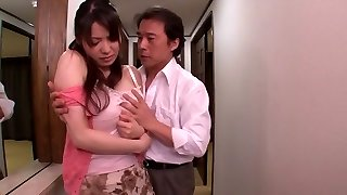 Yuna Aino in Fucked By Her Husbands Playmates part 1.1