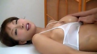 Fabulous Japanese girl Ai Mitsumi in Amazing Massage JAV scene