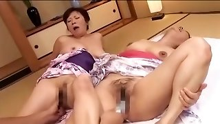 Fabulous First-timer flick with Mature, Asian scenes