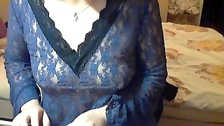 Chinese mom Demonstrating big long Nipples