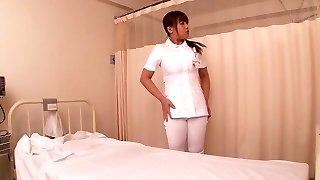 Ultra-kinky Japanese model Kaede Imamura, Amateur in Best medical, nurse JAV video