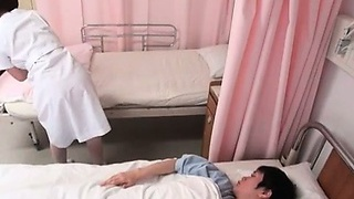 Cute Asian nurse gets groped part5
