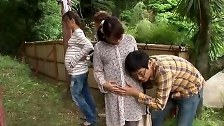 Fabulous Japanese bitch Hinata Komine, Kyouko Maki in Finest Public JAV clip