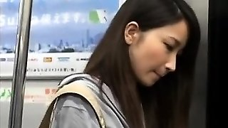 Japanese MILF fucked in hairy clittie