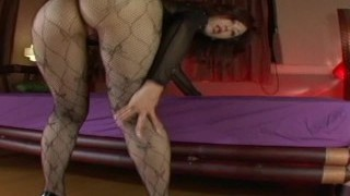 Japanese Av Model Shame ! Voyeur : Hairy Pussy Through Pantyhose ! 9