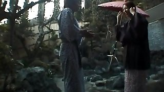 Tomoe Hinatsu deep-throats cock and gets pool plow