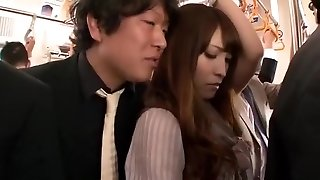 Insatiable Japanese girl Kokomi Sakura in Hottest Fingering, Public JAV clip