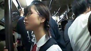 Super-naughty Chinese model Mizuki Akiyama, Hina Umehara, Anna Mutsumi in Awesome Bus JAV video