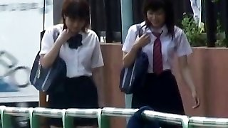 Asian Panties-Down Sharking - College Girls Pt 2- CM