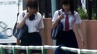 Asian Panties-Down Sharking - College Girls Pt 2- CM