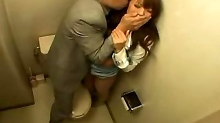 Big titted Chinese babe Hitomi Tanaka hard by her boss