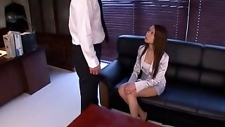 Super-naughty amateur Office, Cunnilingus adult video