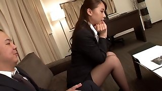 Fabulous Japanese girl Yui Oba in Crazy fingering, stockings JAV movie