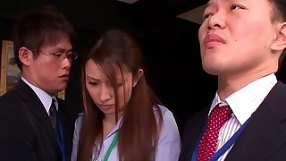 Nao Yoshizaki in Bang-out Slave Office Lady part 1.1