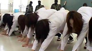 Amazing Japanese model Hinata Mahiru, Rui Hazuki, Kalen Ichinose in Horny Fetish, Slapping JAV clamp