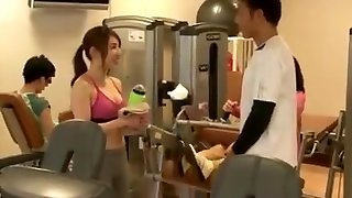 Japanese sex at gym