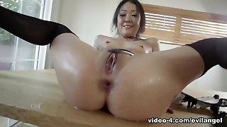 Saya Song & Mr. Pete in Anal Chinese Housekeeper Squirts - EvilAngel