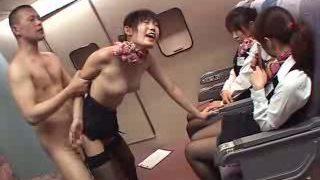 japanase pantyhose air hostess  husami