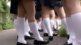 Best Japanese girl Ai Uehara in Impressive College, Bus JAV video