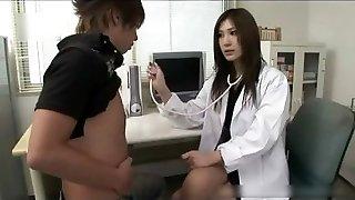 Hottie Japanese Therapist Gets Fucked