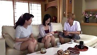 Asian mom seduces daughter's boyfriend